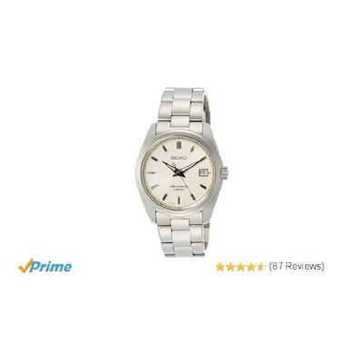 Amazon.com: SEIKO Mechanical Standard Models Automatic Mens Watch SARB035: Watch
