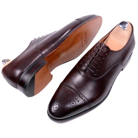 Meermin Mallorca Dark Brown Oxford