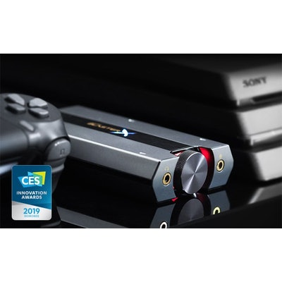 Sound BlasterX G6 7.1 HD Gaming DAC and External USB Sound Card with Xamp