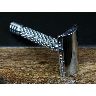 Charcoal Stainless Steel Hammered, Level-1 Closed Comb