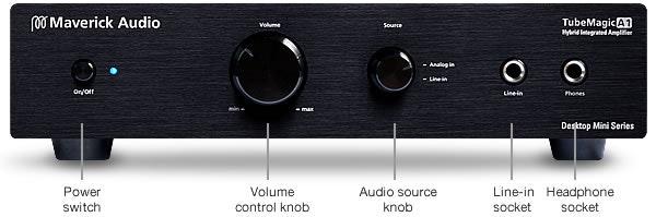 Maverick Audio TubeMagic Hybrid Integrated Amplifier A1