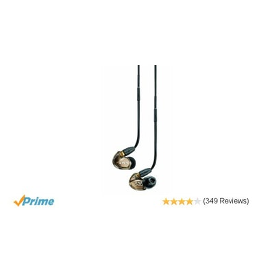 Shure SE535-V Sound Isolating Earphones with Triple High Definition