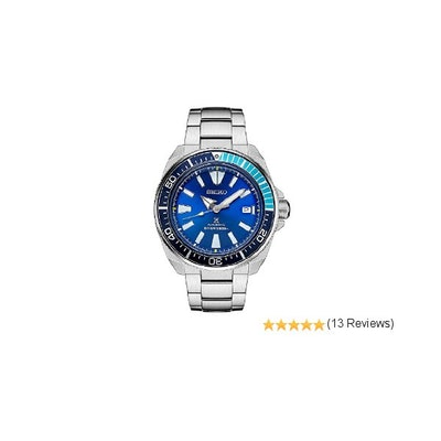 "Amazon.com: Seiko Prospex Samurai ""BLUE LAGOON"" Men's Automatic Limited Edition"