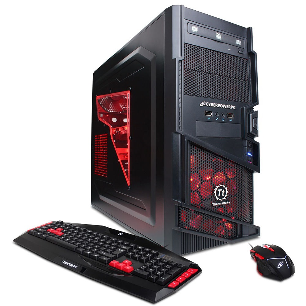 Customize Cyber Deal AMD 8-Core Gaming PC