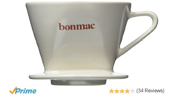 Bonmac Dripper [2-4 cups] CD-2W # 813005 (japan import)