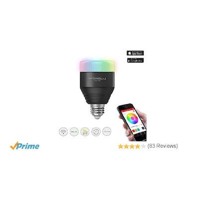Amazon.com: MIPOW E26 Bluetooth Smart LED Light Bulbs APP Group Controlled Dimma