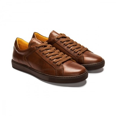 Leather Sneakers › '68 by Martin   Undandy   Custom made Handcrafted Men's Shoes