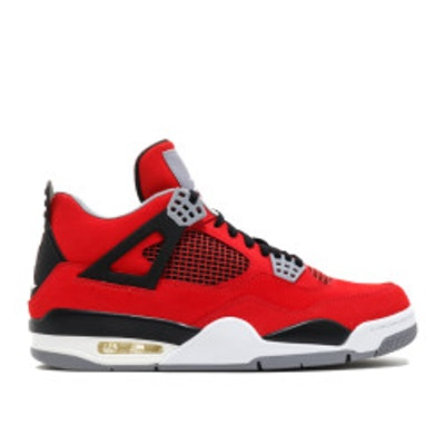 "air jordan 4 retro ""toro bravo"" - fire red/white-black-cmnt grey - Air Jordans"