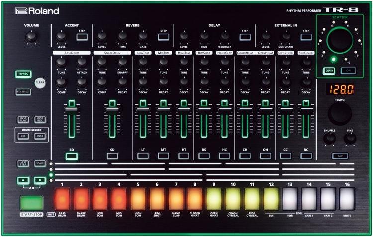Roland TR-8 Rhythm Performer | Sweetwater.com