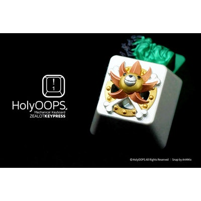 HolyOOPS Thousand Sunny Backlit Aluminum Keycap - GeekKeys