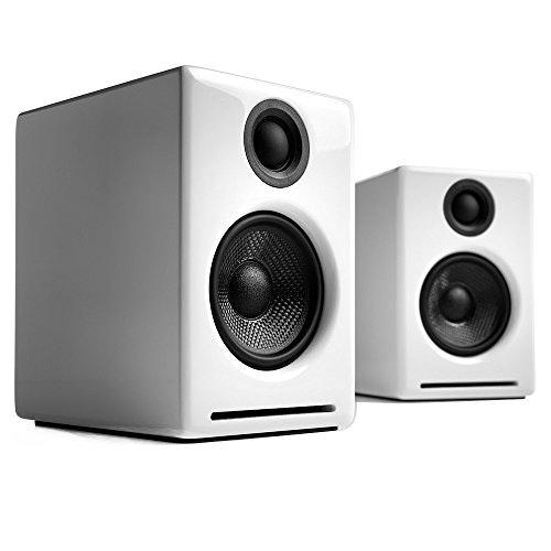 Audioengine A2+ Mini Bookshelf Powered Speaker, White: Amazon.ca: Electronics