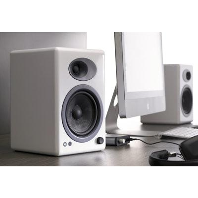 Audioengine A5+ White Studio Monitors