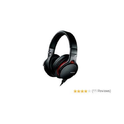 Amazon.com: Sony MDR1ADAC/B Premium Hi-Res DAC/Amplifier-Integrated Headphones,