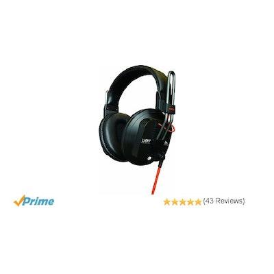 Fostex T50RP MK3 Professional Studio Headphones, Semi-Open: Musical