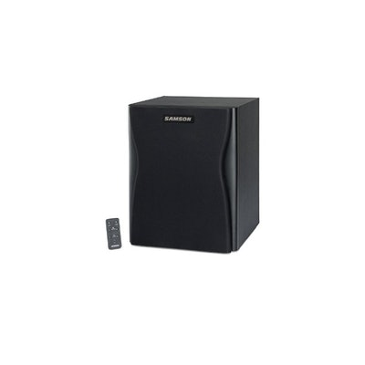 Amazon.com: Samson SARXA10S Resolv Active Studio Subwoofer with Remote Control:
