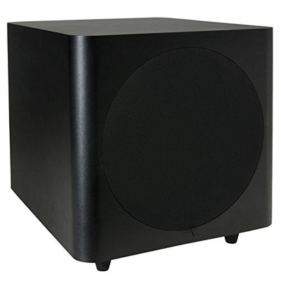 Dayton Audio SUB-800 8-Inch 80 Watt Powered Subwoofer (Black): Elect