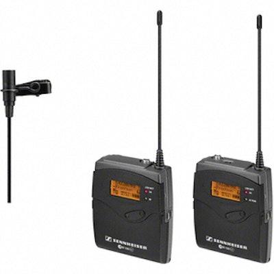 Sennheiser ew 112-p G3 - Lavalier Clip-On Microphone Wireless Set - Presentation