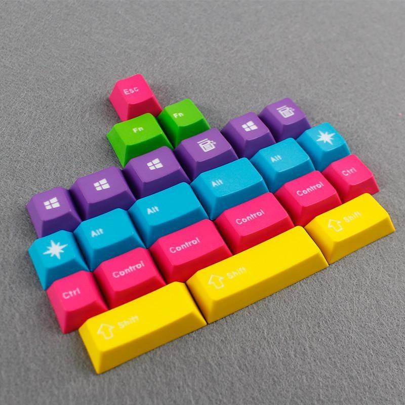 Enjoypbt CMYW Keycaps