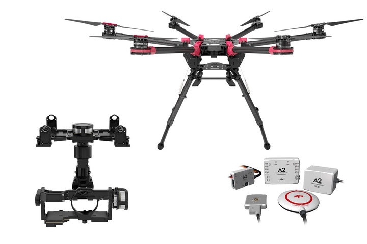 Spreading Wings S900 - highly portable, powerful aerial system for the demanding