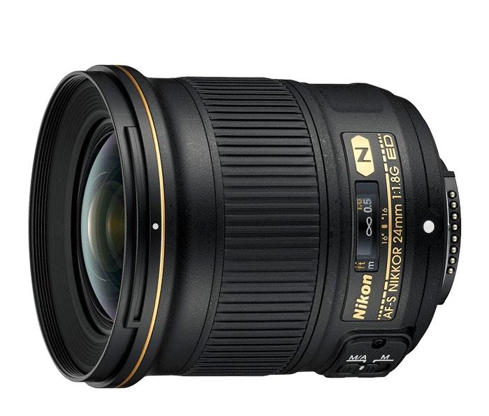 Nikon AF-S NIKKOR 24mm f/1.8G ED   24mm Interchangeable Lens for Nikon DSLR Came