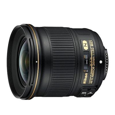 Nikon AF-S NIKKOR 24mm f/1.8G ED | 24mm Interchangeable Lens for Nikon DSLR Came