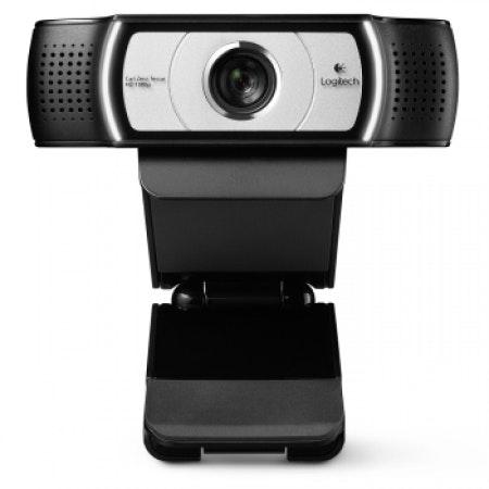 Logitech Webcam C930e, HD 1080p Video and 90-degree FoV