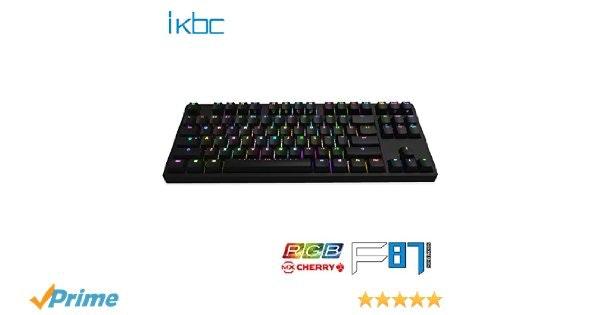 iKBC F87 RGB Double-Shot PBT Tenkeyless