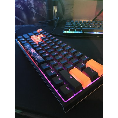 Ducky One 2 Mini RGB LED  60% Double Shot PBT Mechanical Keyboard with Cherry MX