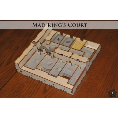 Mad King's Court (compatible with CASTLES OF MAD KING LUDWIG™) - Meeple Realty
