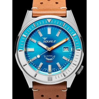 Squale 600 meter Professional Swiss Automatic Dive watch with 44mm Case #Matic-B