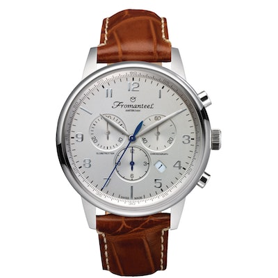Fromanteel Globetrotter Chrono Silver - Swiss