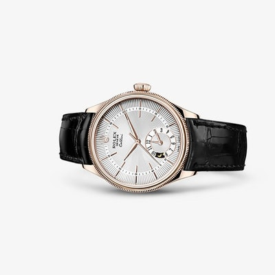 Rolex Cellini Dual Time Watch: 18 ct Everose gold - 50525