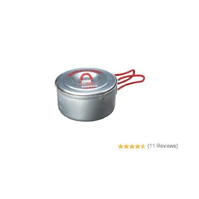Amazon.com : Evernew Titanium Ultralight Pot, 0.9-Liter : Camping Pots And Pans