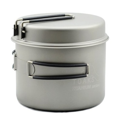 TOAKS Titanium 1600ml Pot with Pan