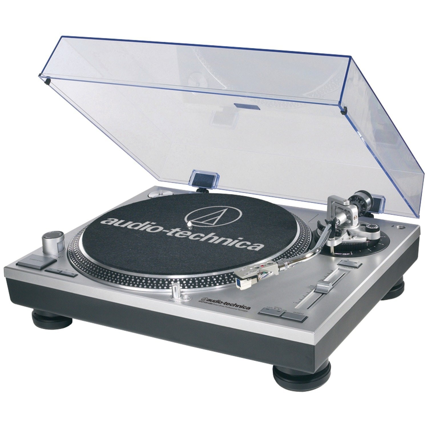 Amazon.com: Audio-Technica AT-LP120-USB Direct-Drive Professional Turntable in S