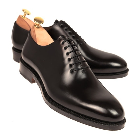 CARMINA WHOLECUT BLACK OXFORD BLACK ROIS
