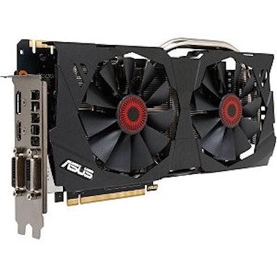 ASUS GeForce GTX 970 STRIX-GTX970-DC2OC-4GD5 4GB 256-Bit GDDR5 PCI Express 3.0 H