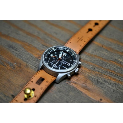 Leather Ruler NATO Stud Watch Strap — Nick Mankey Designs