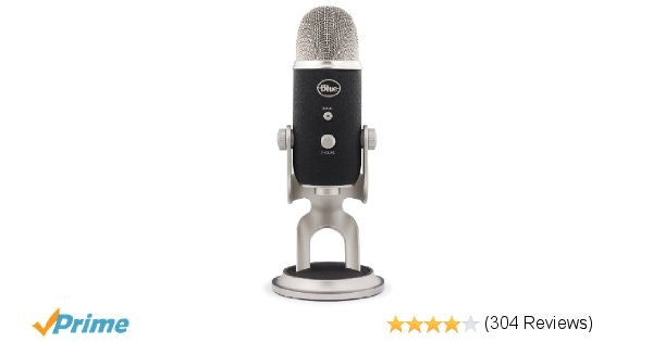 Amazon.com: Blue Yeti Pro USB Condenser Microphone, Multipattern.: Musical Instr