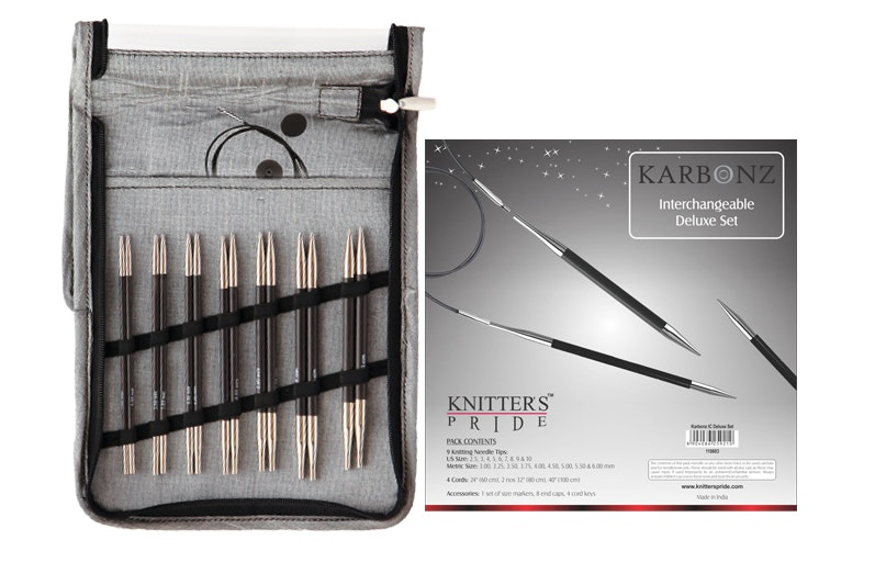 Karbonz Interchangeable Circular Needle Set