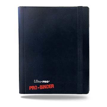 4-Pocket Black PRO-Binder, Ultra PRO