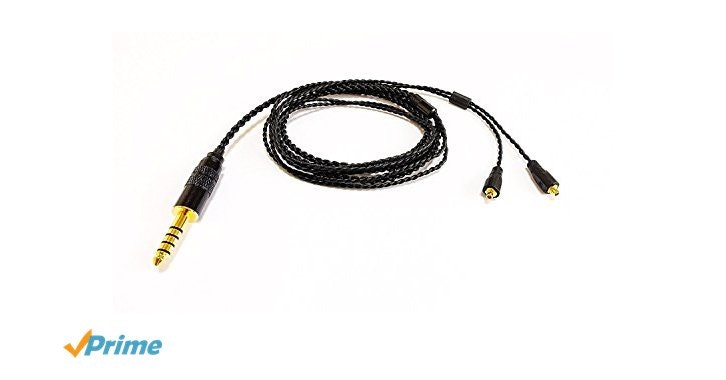 Amazon.com: G&V 4.4mm 5-pole Balanced Cable, MMCX connector, 1.2m, SE-4BA-AIR: H