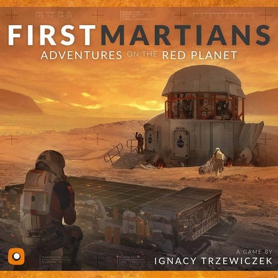 First Martians: Adventures on the Red Planet | Board Game