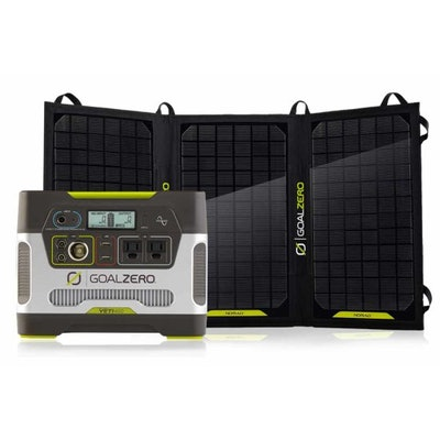 Goal Zero Yeti 400 Solar Generator Kit | Complete Solar Kits | Goal Zero