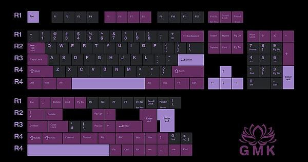 GMK BLACK LOTUS Poll - Massdrop