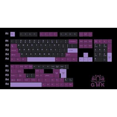 GMK Black lotus with purple modifiers Base Kit