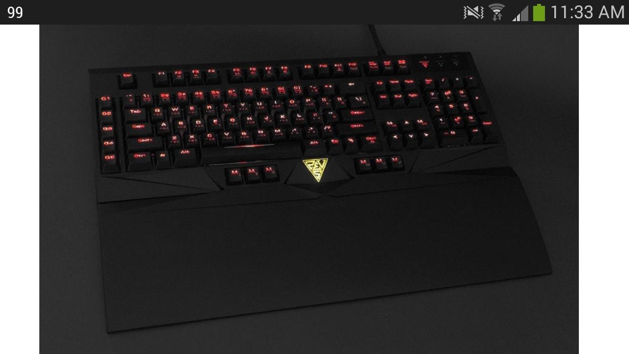 Gamdias HERMES Mechanical Gaming Keyboard - Cherry Blue