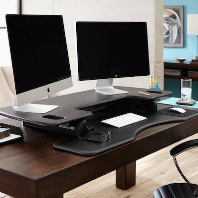 Standing Desks | VARIDESK®Pro Plus 48 Height-Adjustable Standing Desk | VARIDESK
