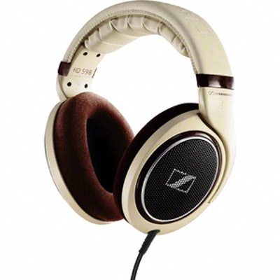 Sennheiser HD 598 - Audio Headphones High-end Surround sound - Stereo, HiFi