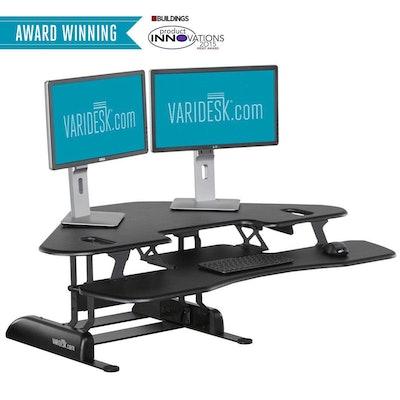 Height-Adjustable Standing Desks - CUBE CORNER 48™